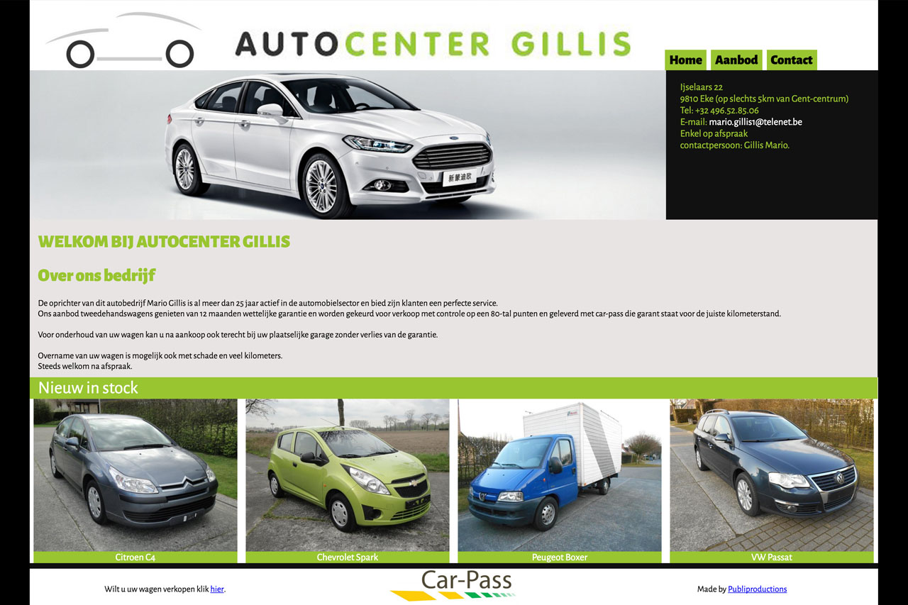 Auto Center Gillis - Publiproductions