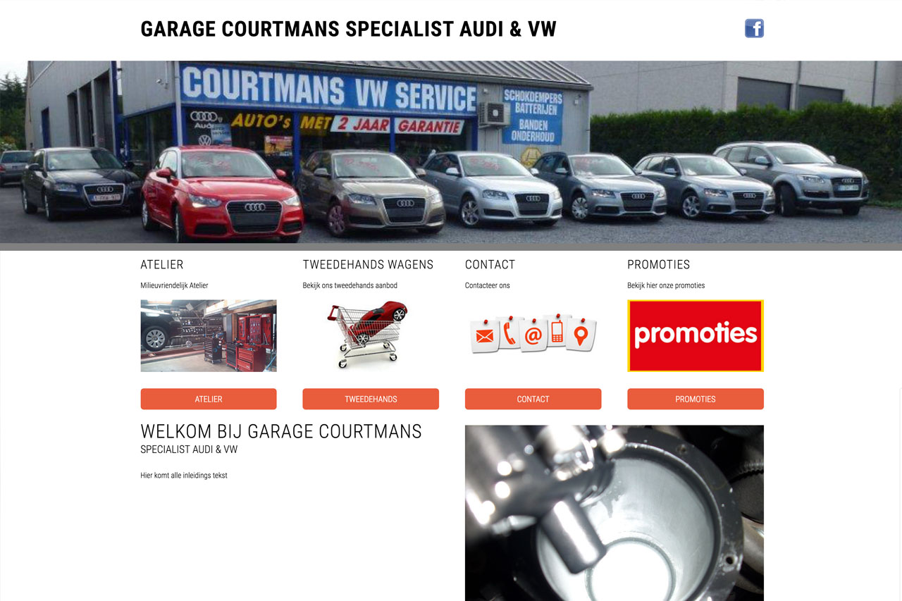 Garage Courtmans - Publiproductions
