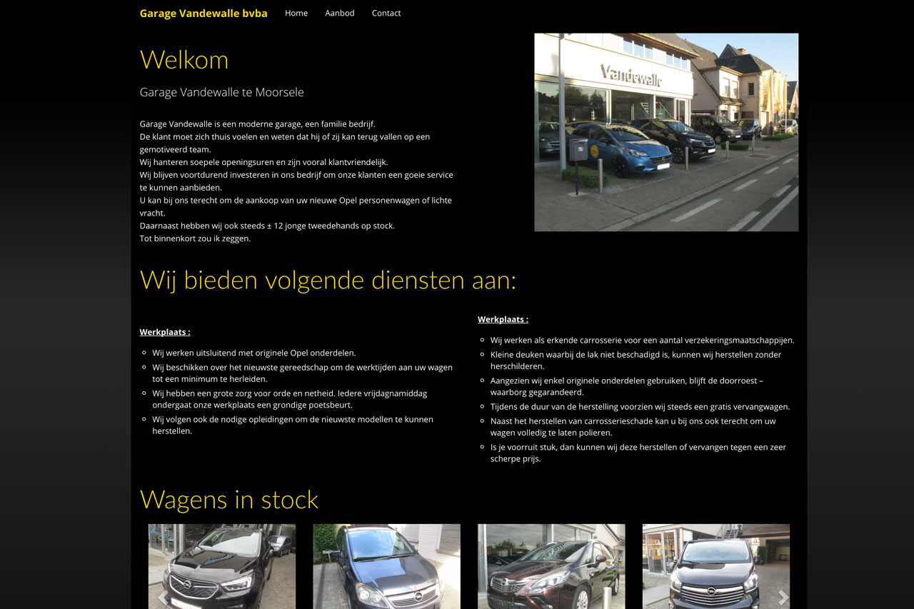 Opel Vandewalle - Publiproductions